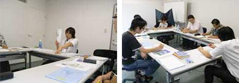 2008年8月開催 CSR研修風景(西日本研修)