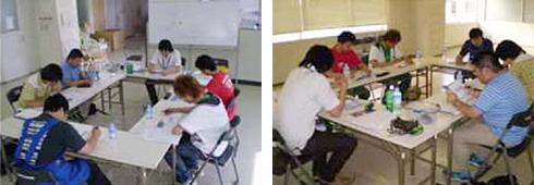2008年8月開催 CSR研修風景(東日本研修)