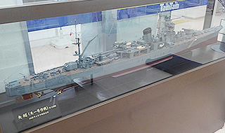 軽巡洋艦矢矧-昭和20年4月 天一号作戦時(沖縄特攻時)